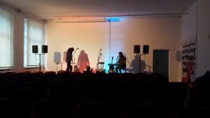 Soundcheck Tidemore im März 2015