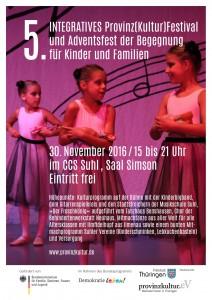Flyer 5. Integratives Provinz(Kultur)Festival