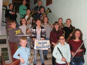 Kinderbigband der Musikschule Suhl